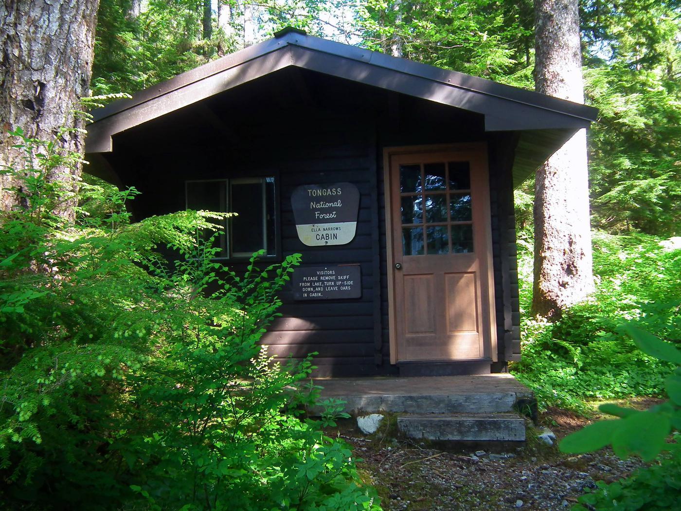 Ella Narrows Cabin Front