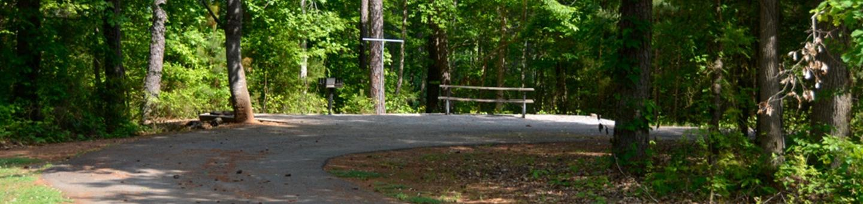 Victoria Campground Site 10