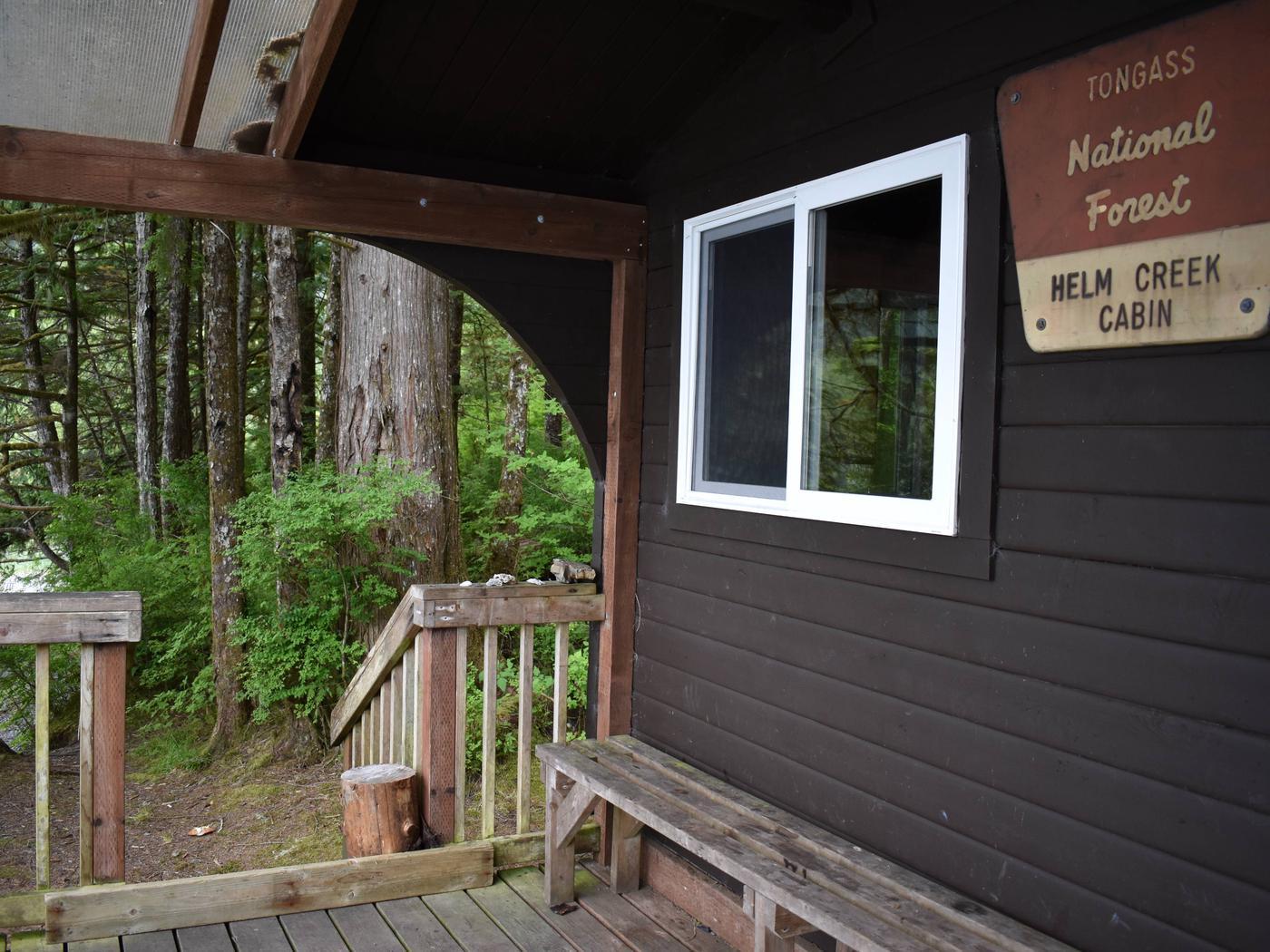 Helm Creek Cabin Front