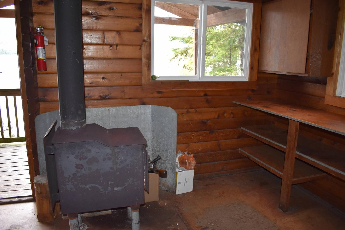 Kitchen Area and Stove