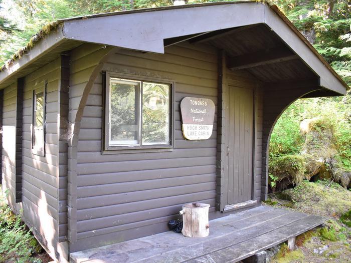 Hugh Smith Cabin Front