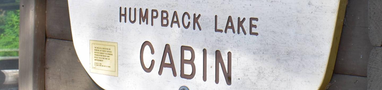 Humpback Lake Sign