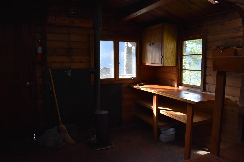 Kitchen Area and Stove