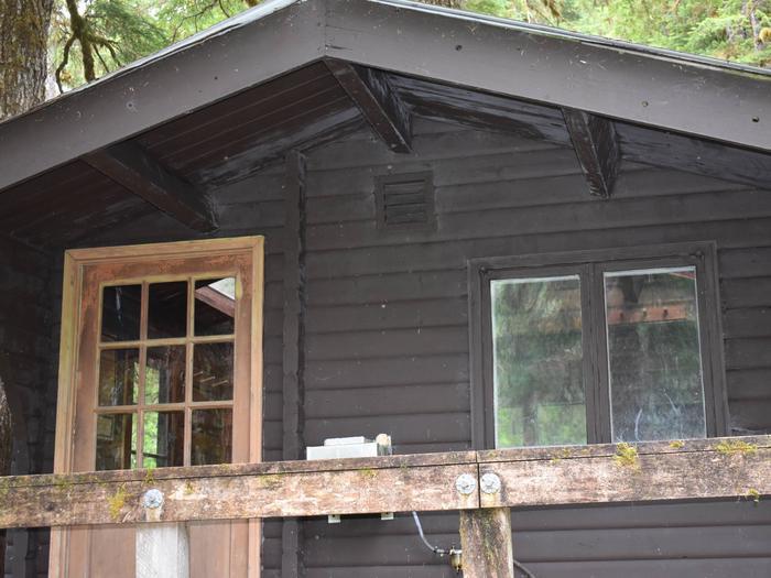 Front of Manzanita Cabin