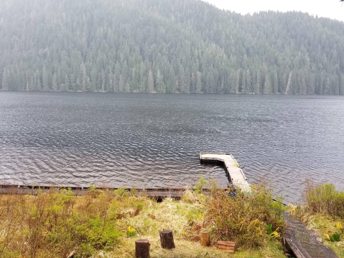 Heckman Lake with Dock