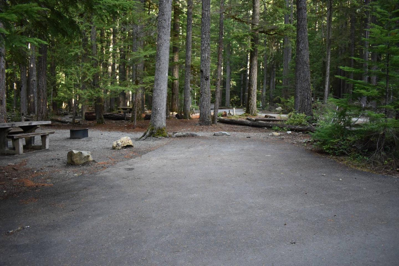 Ohanapecosh Campground - Site D001 Parking Area