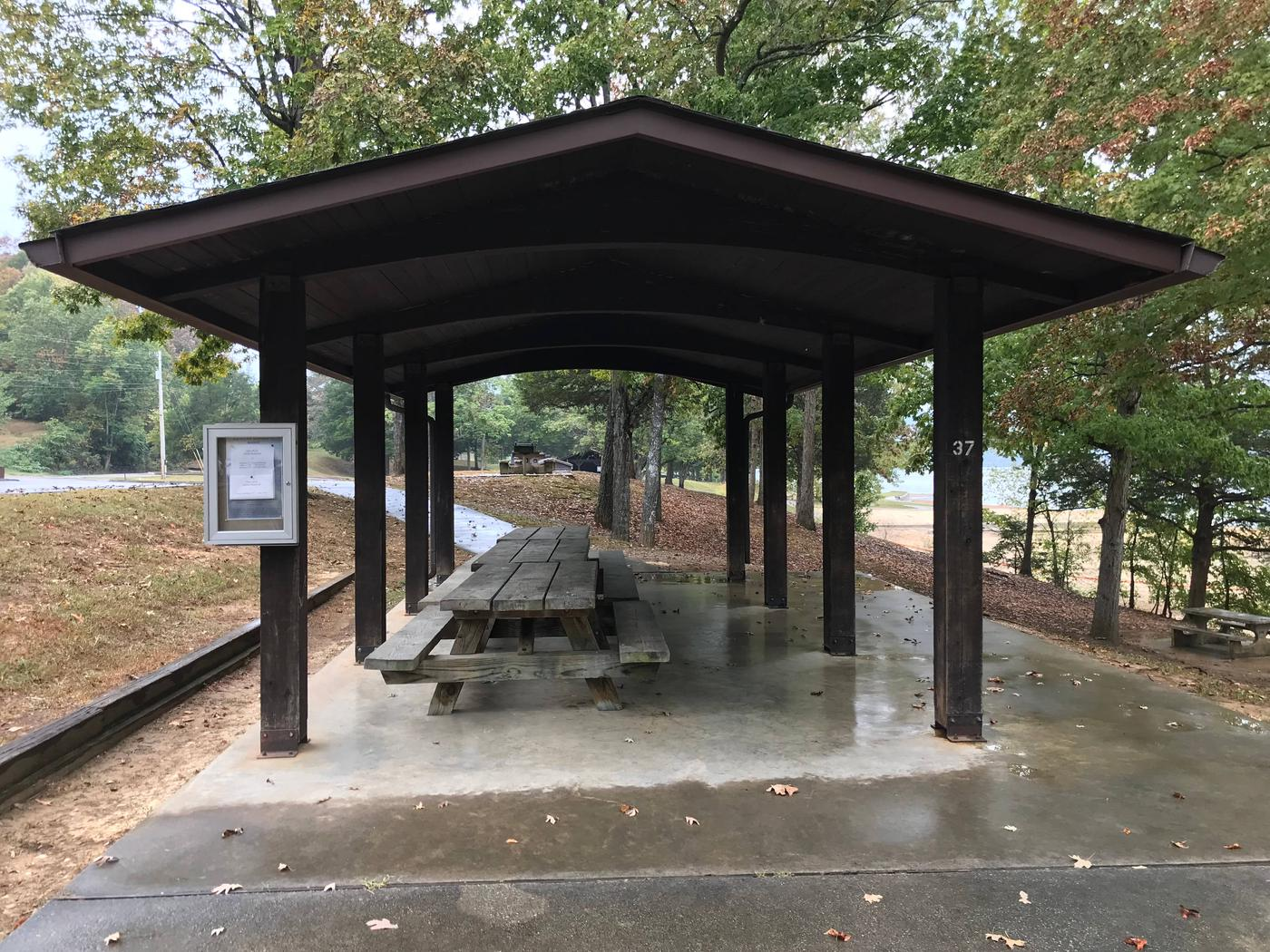 Obey River Park Small Shelter (S2) MAIN ACCESSObey River Park Small Shelter (S2)