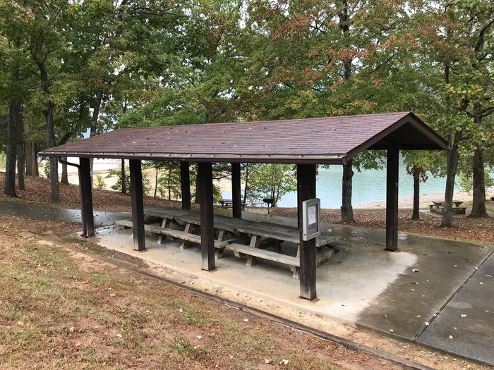 OBEY RIVER PARK SMALL SHELTER (S2) LAKE VIEWOBEY RIVER PARK SMALL SHELTER (S2)