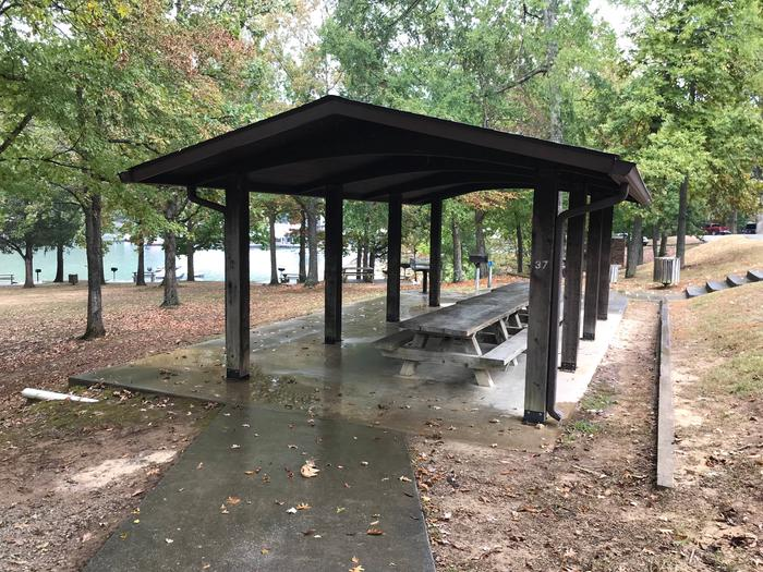 OBEY RIVER PARK DAY USE SMALL RESERVABLE SHELTER
