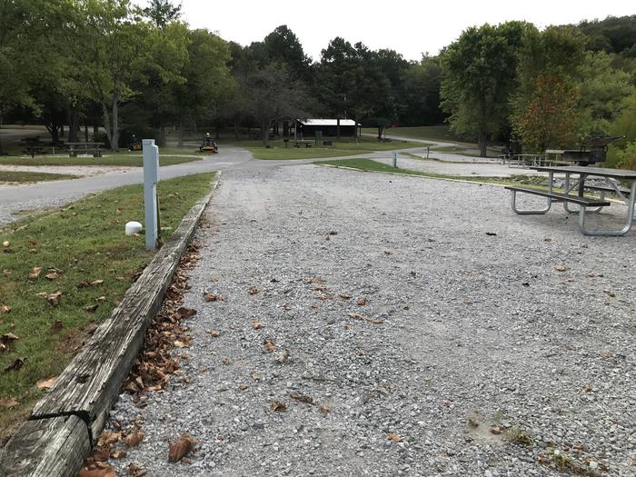 OBEY RIVER PARK SITE # 42 VIEW TOWARD ROADOBEY RIVER PARK SITE # 42 WHITE CAP IS WATER VALVE, NOT SEWER