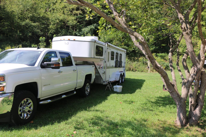 Steel Creek Horse Camp Site #28-2horse camp #28