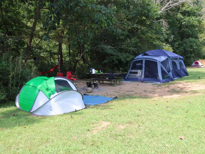 Steel Creek Camp Site #18