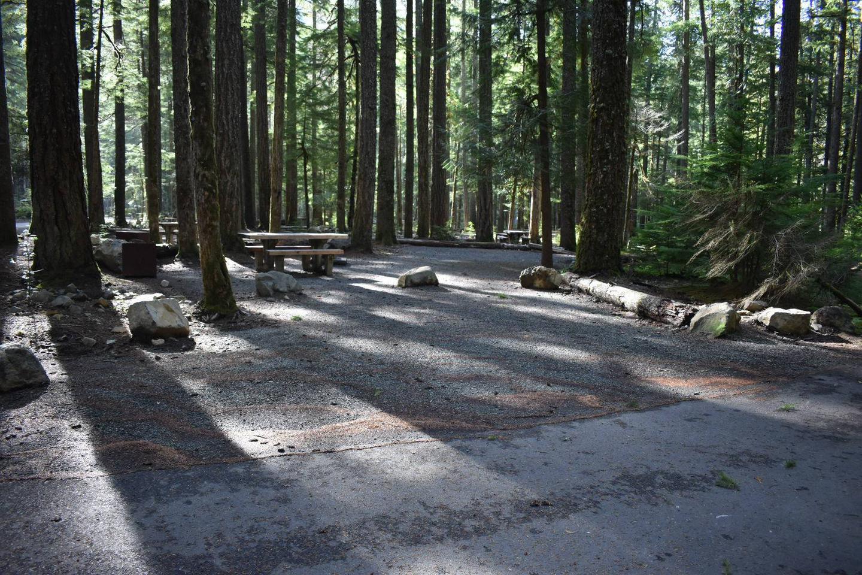 Ohanapecosh Campground - Site D012 Parking Area