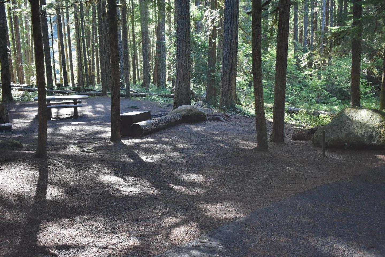 Ohanapecosh Campground - Site E006 Parking Area