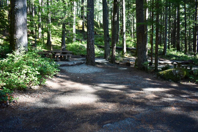 Ohanapecosh Campground - Site E012 Parking Area