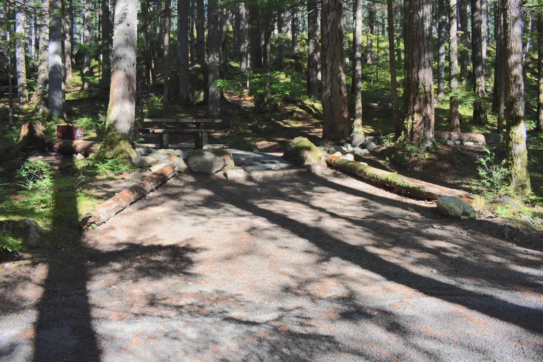 Ohanapecosh Campground - Site E014 Parking Area