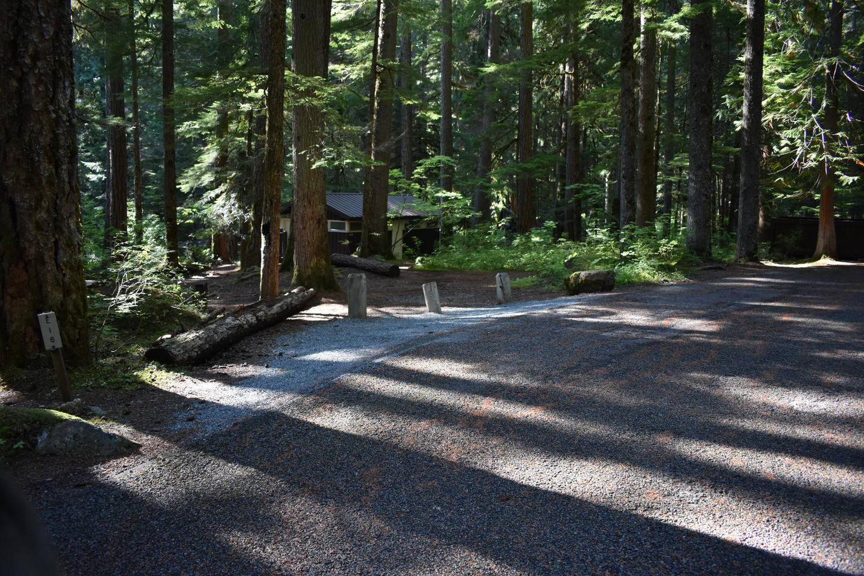 Ohanapecosh Campground - Site E016 Parking Area