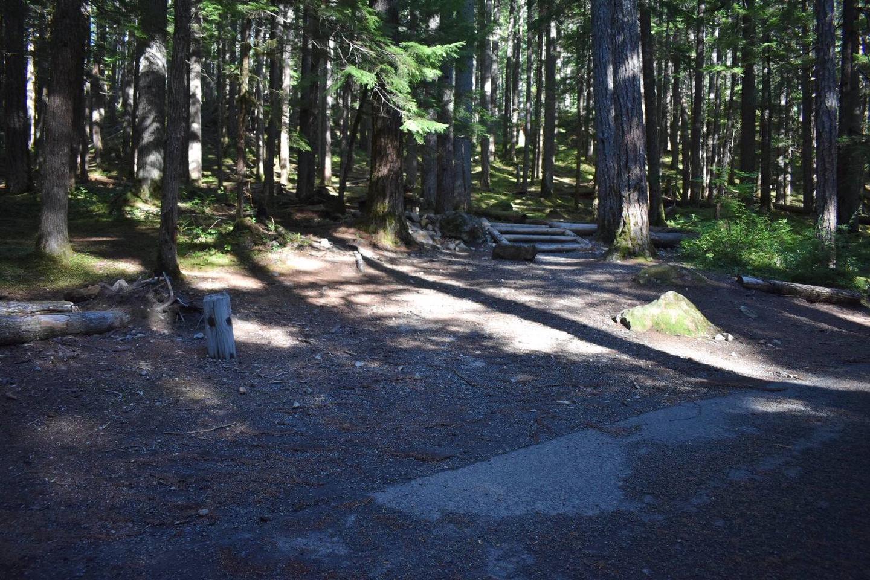 Ohanapecosh Campground - Site E017 Parking Area