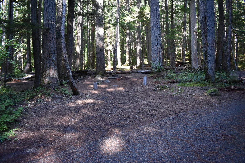 Ohanapecosh Campground - Site E019 Parking Area