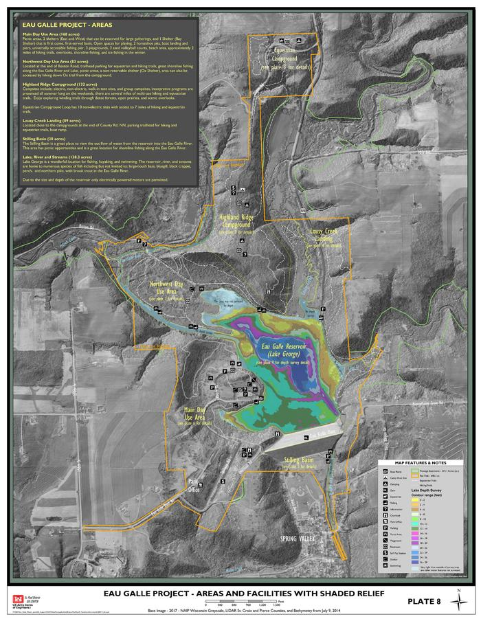 Overview of Park with Bathymetry