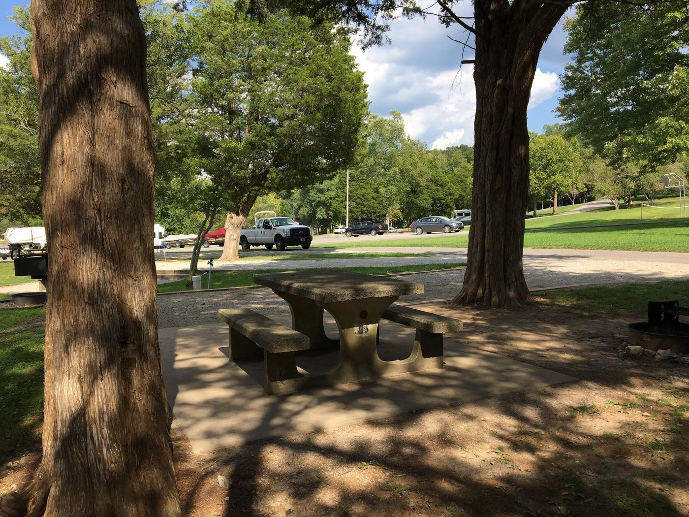 OBEY RIVER PARK SITE #91 TABLEOBEY RIVER PARK SITE #91
