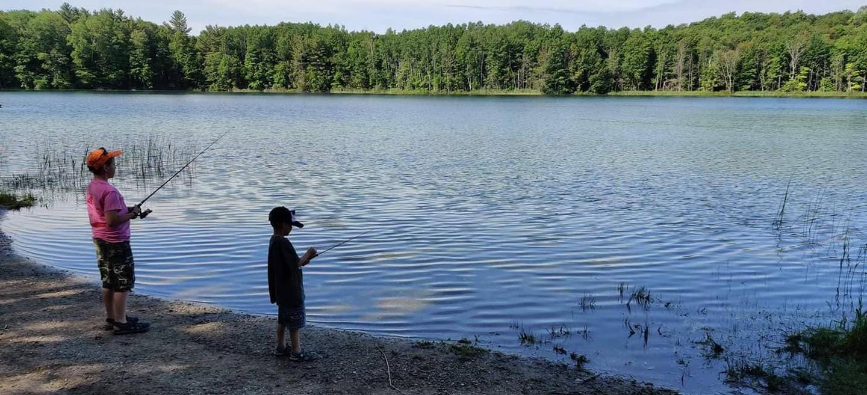 Children fishingChildren Fishing