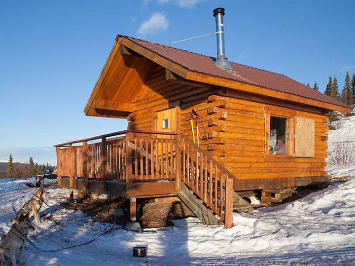 Cabin on snow-covered hillsideEleazar's Cabin