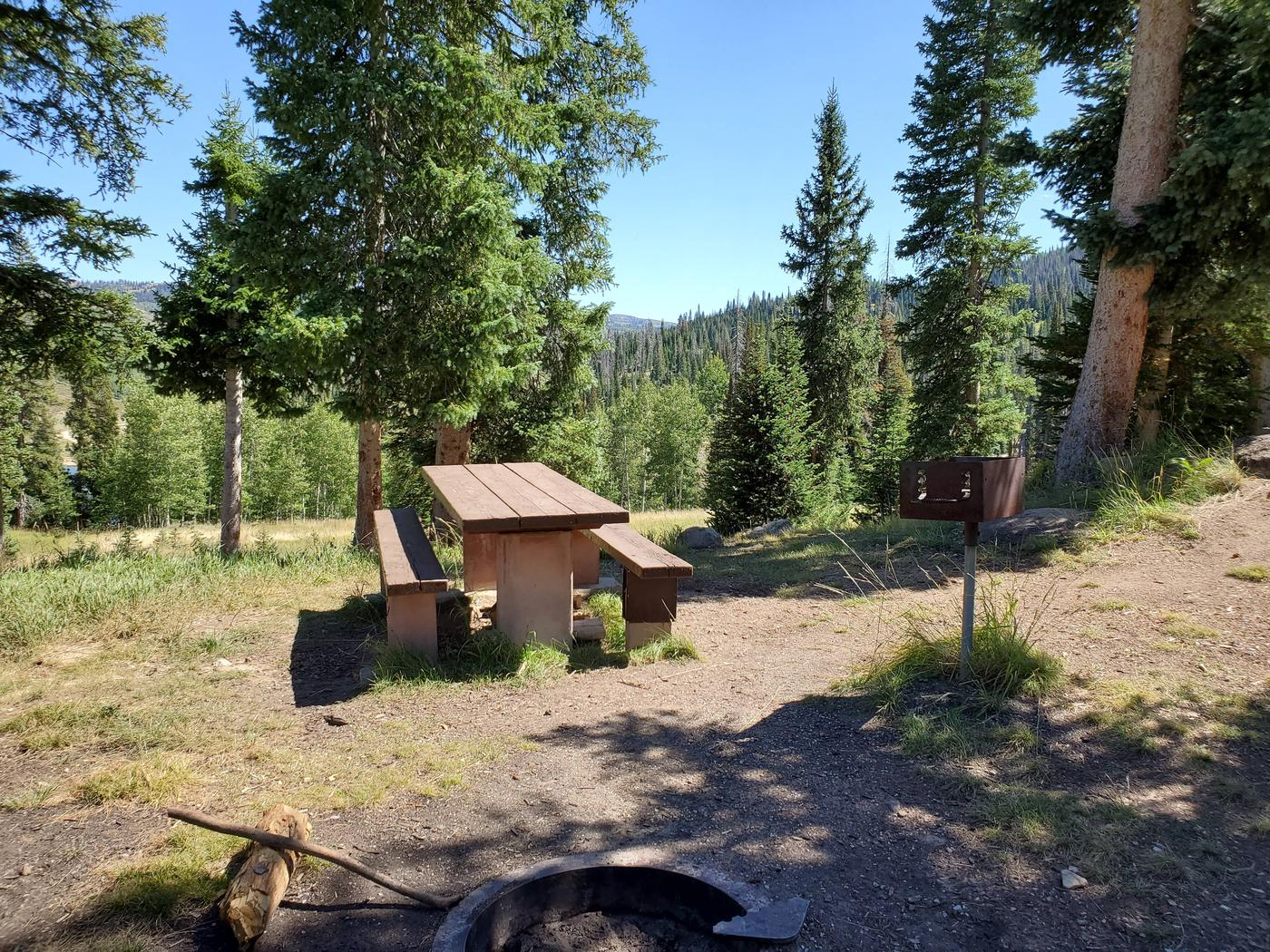 Flat Canyon Campground Site #9bFlat Canyon Campground Site #9
