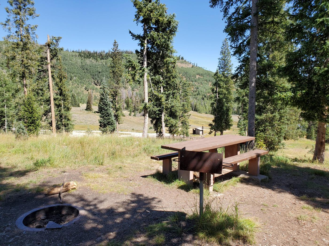 Flat Canyon Campground Site #9aFlat Canyon Campground Site #9