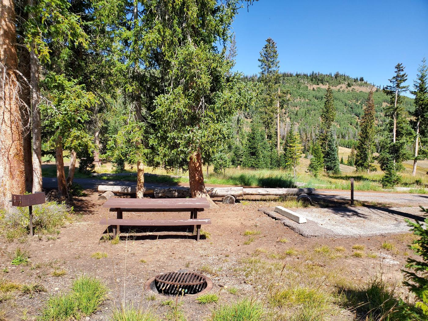 Flat Canyon Campground Site #10aFlat Canyon Campground Site #10