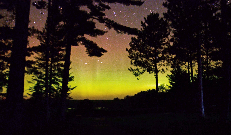 Huron Manistee National ForestAurora Borealis