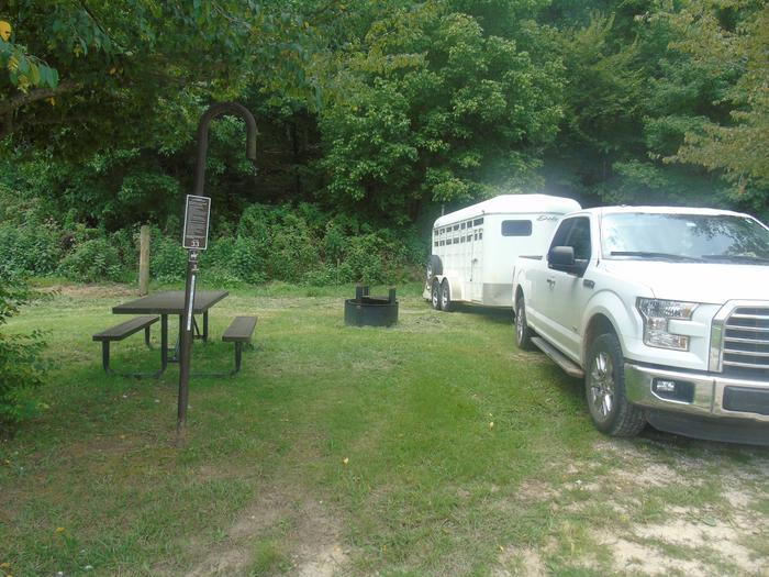 Horse Camp #33Site #33
