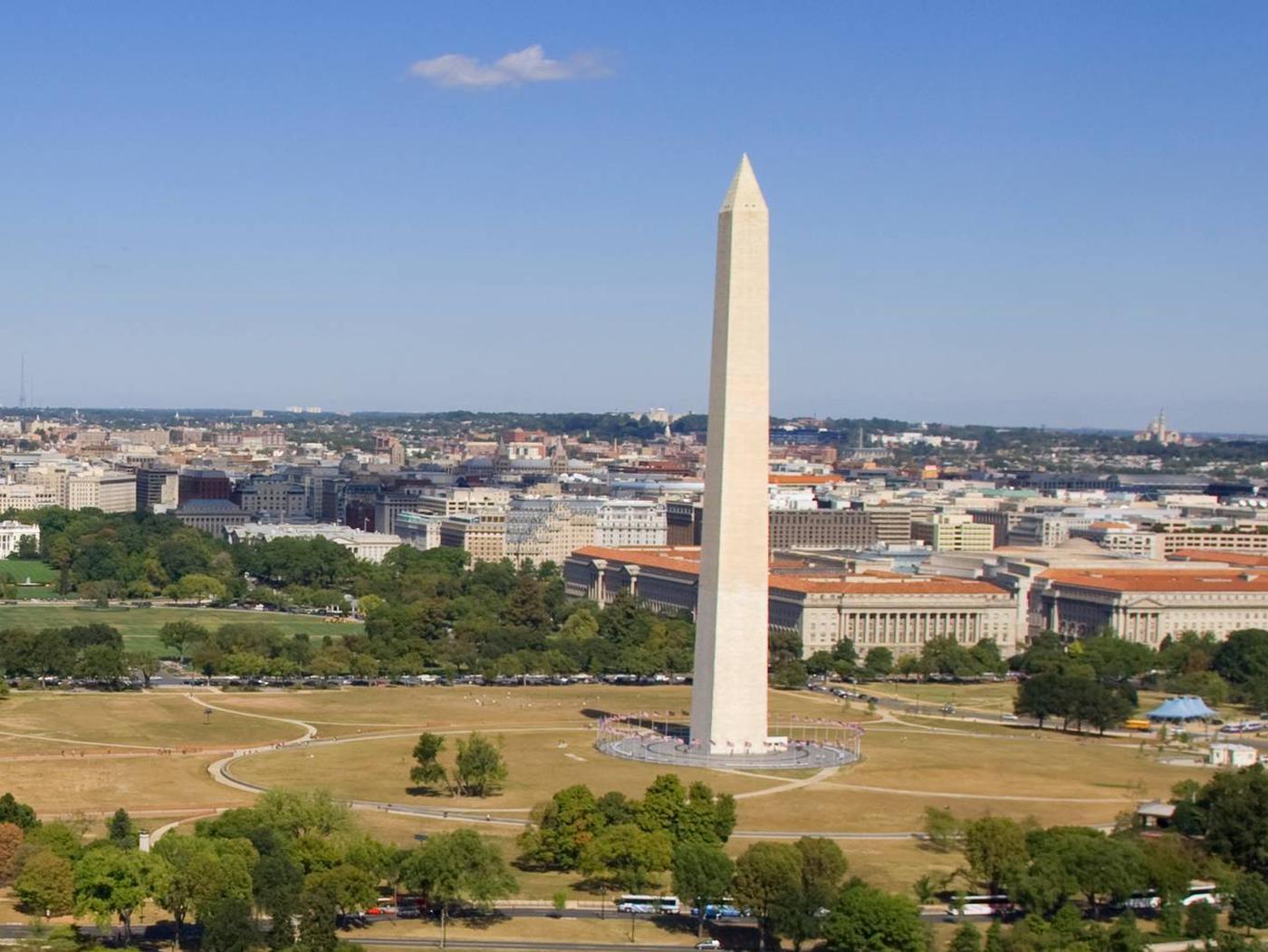 Washington MonumentWashington Monument from the air