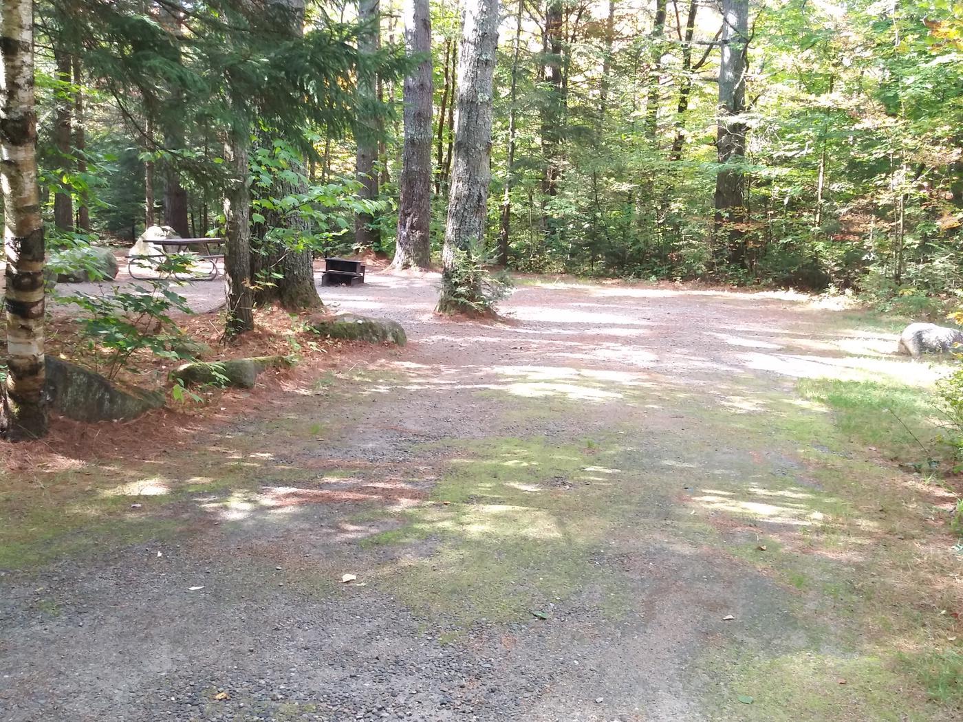 Tent/ trailer site 15 ft. Depth