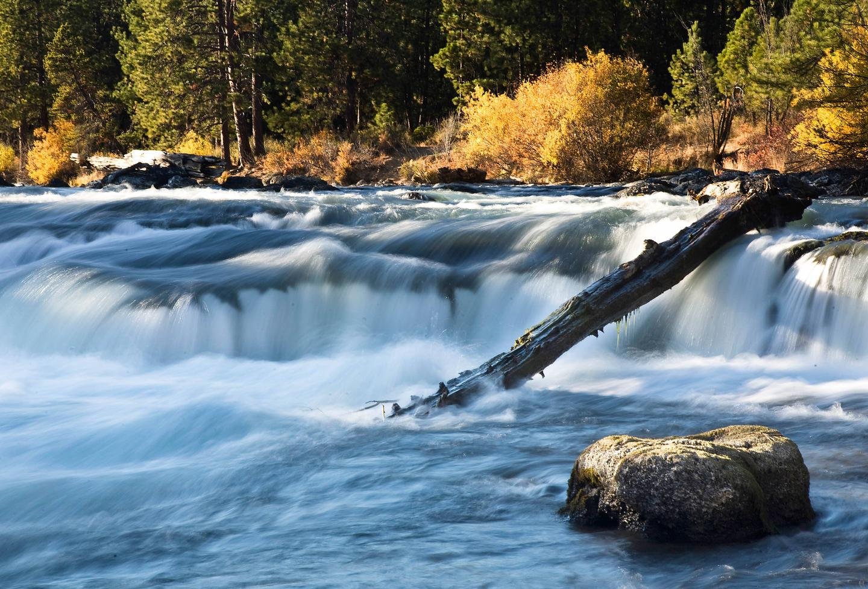 Deschutes National Forest Water FallDillon Falls