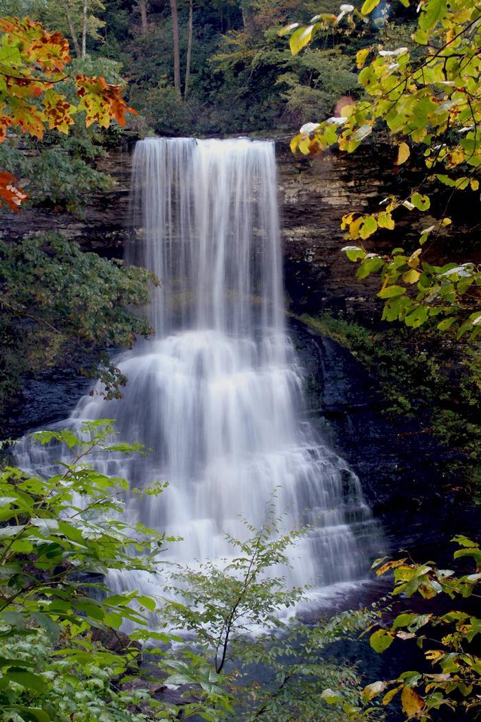 George Washington-Jefferson National Forest Cascade Falls