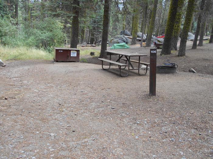 Site 106 Crane Flat