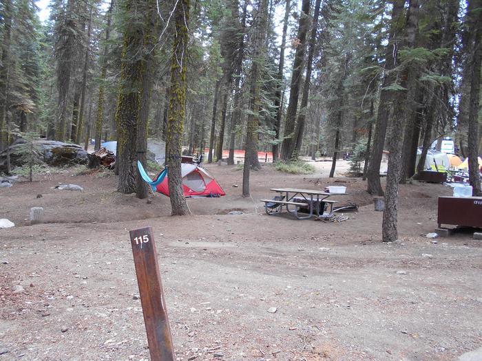 Site 115 Crane Flat