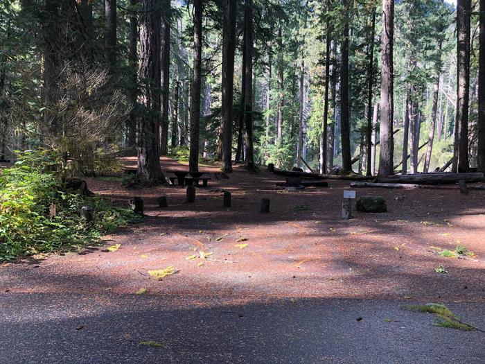 Ohanapecosh Campground - Site A011 Parking Area