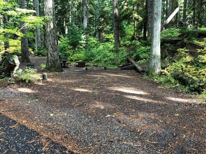 Ohanapecosh Campground - Site A017 Parking Area
