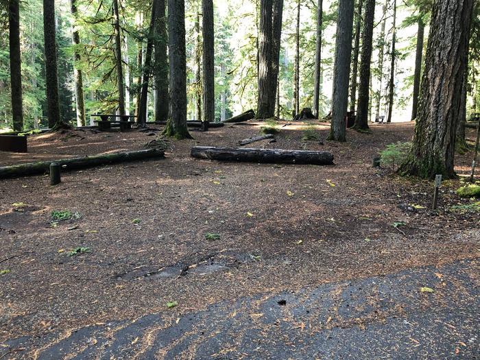 Ohanapecosh Campground - Site A019 Parking Area