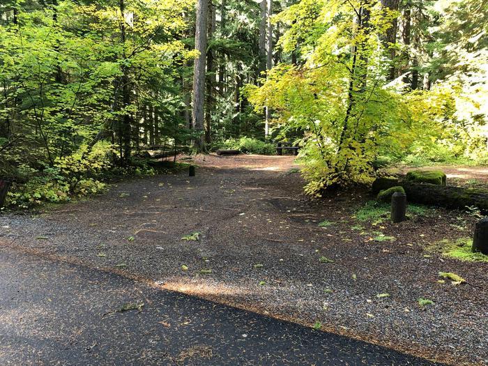 Ohanapecosh Campground - Site A026 Parking Area