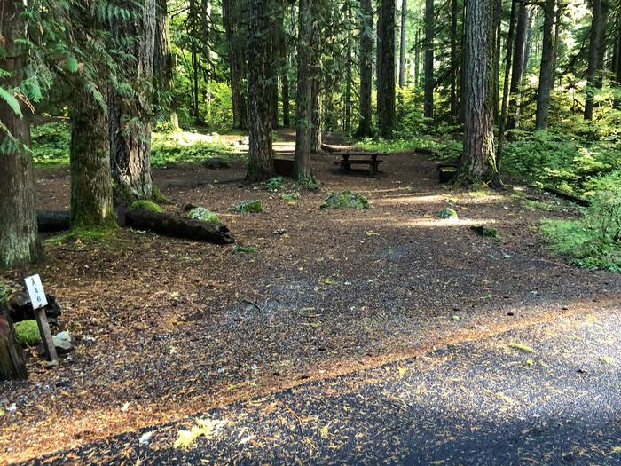 Ohanapecosh Campground - Site A046 Parking Area