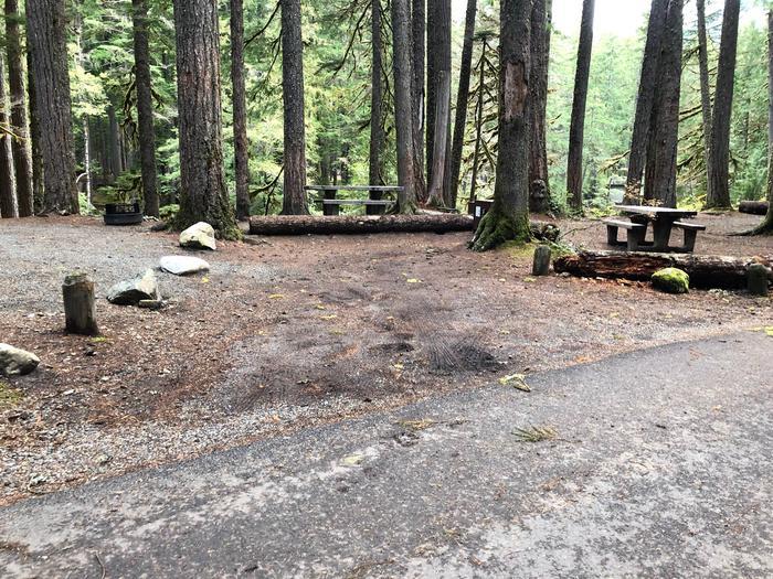 Ohanapecosh Campground - Site C011 Parking Area