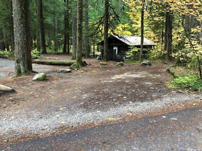Ohanapecosh Campground - Site C012 Parking Area