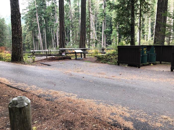 Ohanapecosh Campground - Site C022 Parking Area