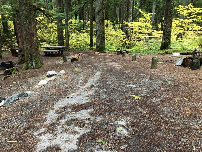 Ohanapecosh Campground - Site C032 Parking Area
