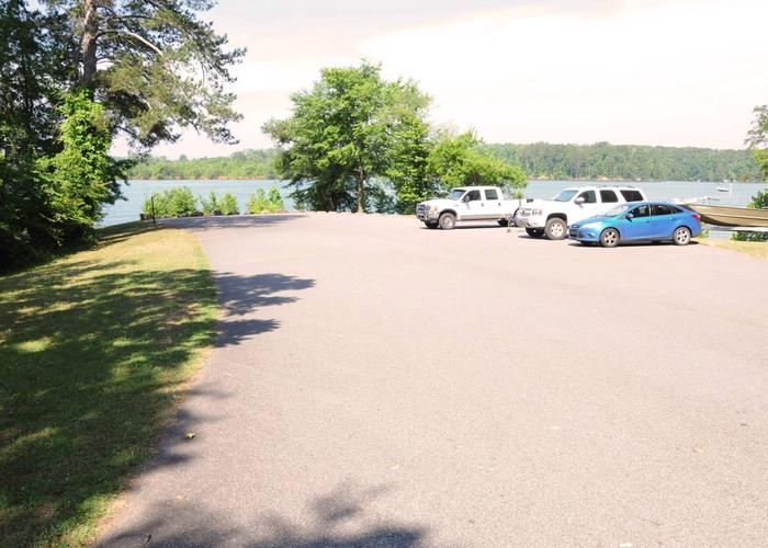 Victoria Campground Boat Parking.