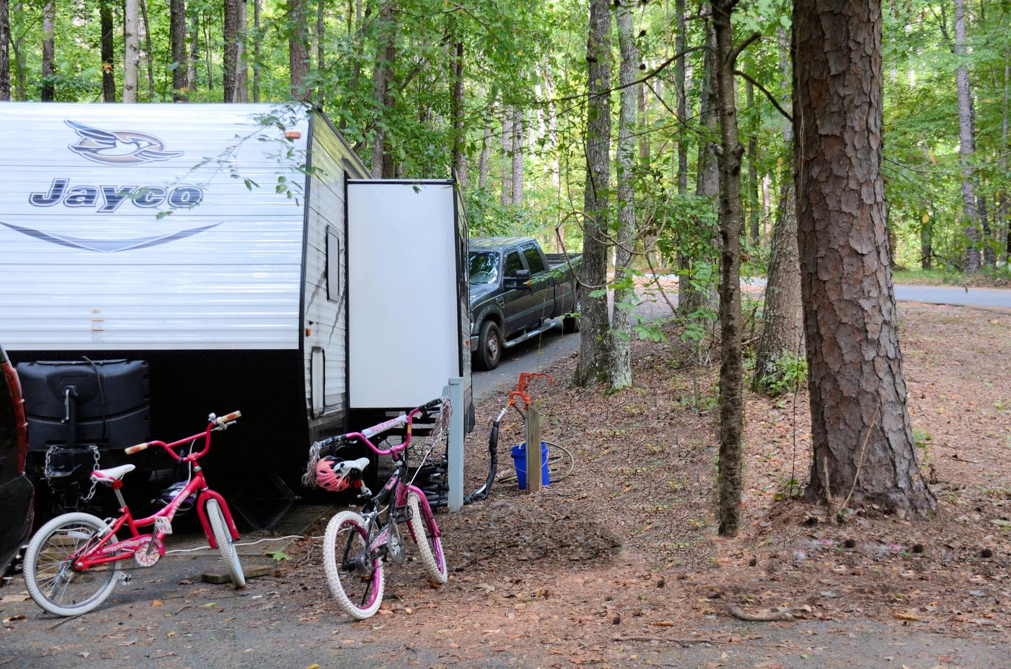 Utilities-side clearance 2.McKinney Campground, campsite 139.