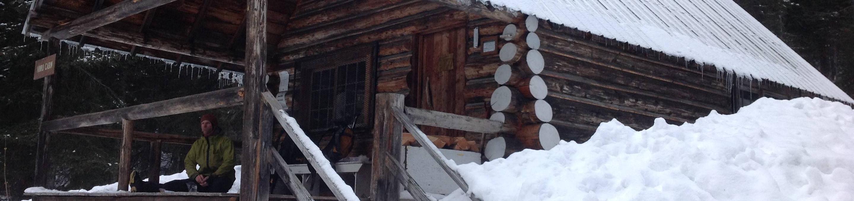 Ninko Cabin - winterWinter at Ninko Cabin